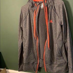 Adidas full zipper warm up jacket